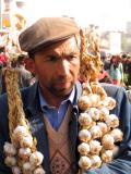 The garlic man