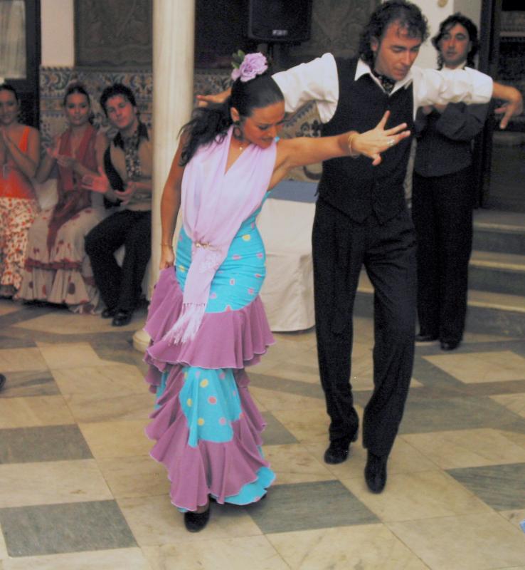 Pair of Flamenco Dancers