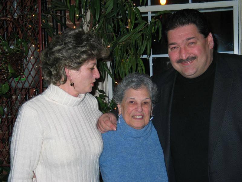 My Mother with Nancy and Anthony