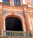 Plaza d'Espana Balcony detail