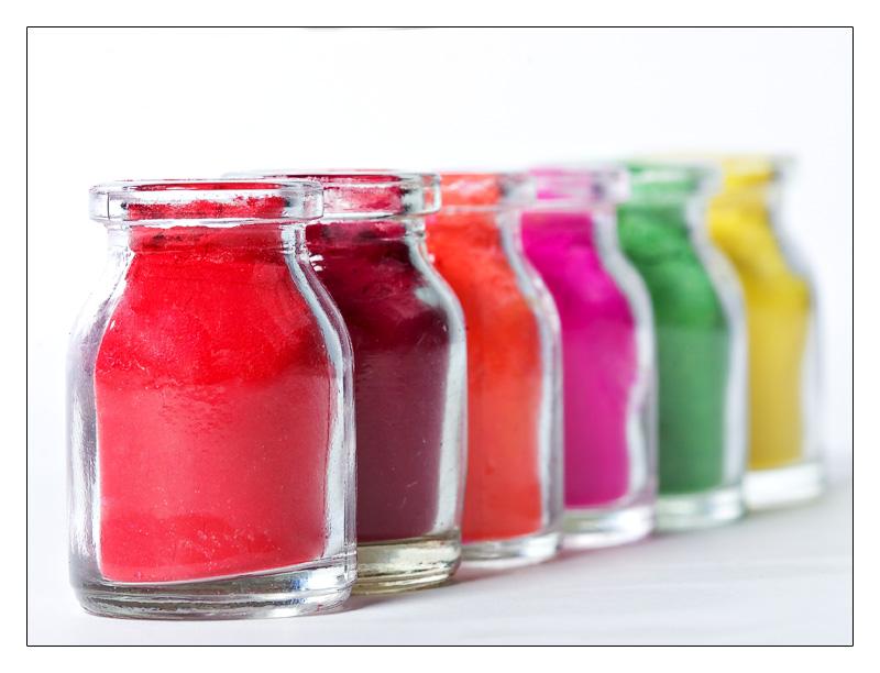 Coloured Bottles 01