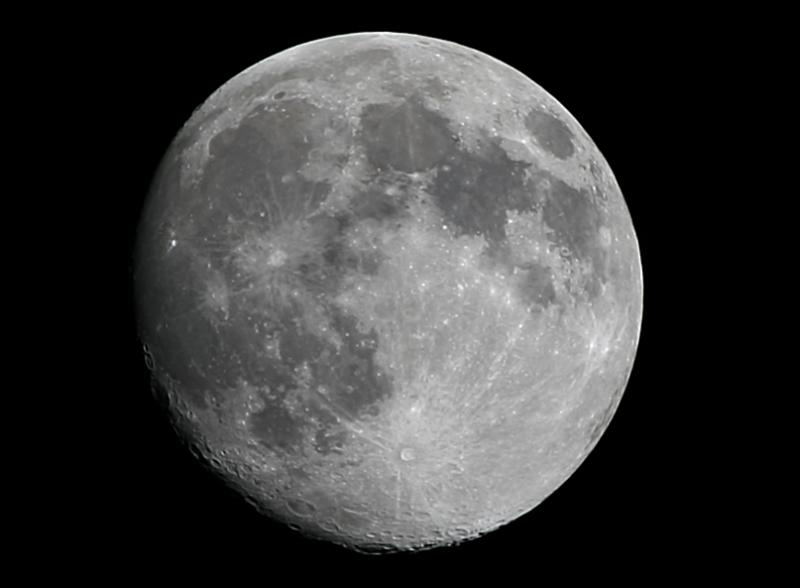 Gibbous Moon - Processed 1