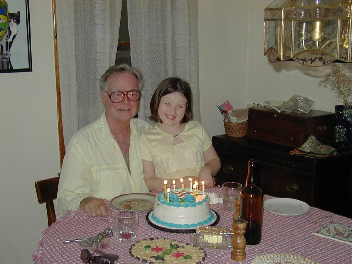 Doug and gr. daughter Erika