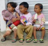 Kindheit  -- so süss und so schön! / One afternoon, two girlfriends and three ice creams