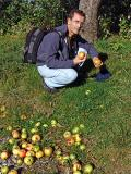 Newton found out the gravity theory and I enjoy the apple
