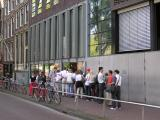 Line in front of Anne Frank's House