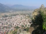 View of Kalambaka from St. Stephen Monastery