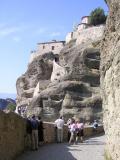 Path to Grand Meteora Monastery