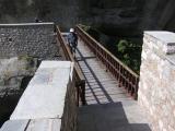 Bridge to Grand Meteora Monastery