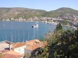 View of Poros from the Clock Tower