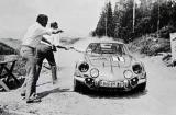 Therier-Roure Renault Alpine A110 1600S Osterreichische Alpenfahrt 1971