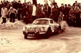 Monte Carlo Rally, 1973 - Jean Claude Andruet - Michele Petit, Renault Alpine A110 1800