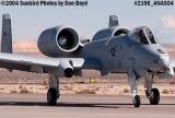 USAF A-10 Thunderbolt II #AF79-210 at the 2004 Aviation Nation Air Show stock photo #2198