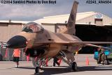 USAF F-16 Falcon at the 2004 Aviation Nation Air Show stock photo #2241