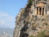A rock tomb for a Lycian higher-up (so to speak)