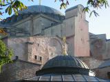 Used as a church for 916 years, it served for 481 years as a mosque after Istanbul was  conquered and very needed restoration work was done.  Ataturk, founder of the Turkish Republic,  had further restoration work done after 1934 and opened it as a museum the following year.