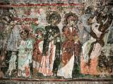 Frescos inside that cave church