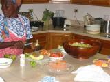 ladies preparing the mal