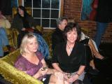 looking good! Ann Farrar and Harriet Priest