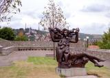 Statue near the castle, Bratislava