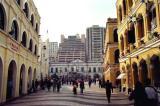 The old part of Macau around Largo do Senado looks very Mediterranean