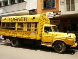 Tusker Lager delivery truck in Nairobi