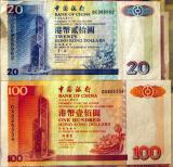 Bank of China issue of Hong Kong $20 and $100