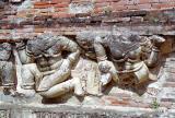 Sculpture on Wat Ratchaburana