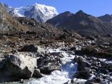glacier fed stream