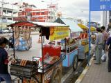 Hawker stalls along Mae Sai, Thai-Mynmar border