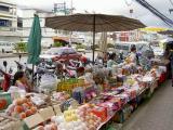 Fruit stalls along Mae Sai