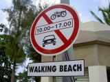 Walking Beach located at Jomtiem Beach