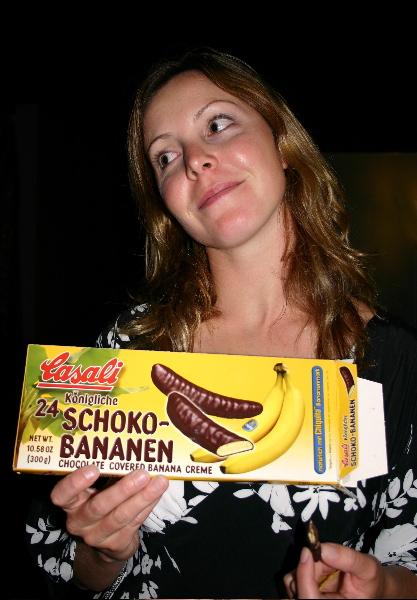Schoko-Bananen!