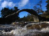 CarrBridge in Spate