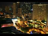 Wider view of Makati center