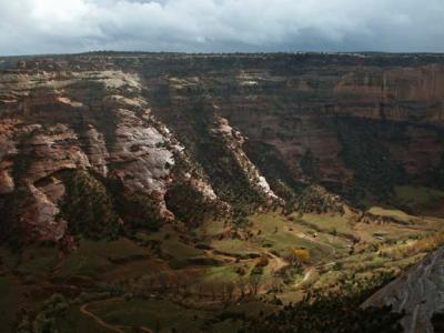 Storm Light over Canyon del Muerto
