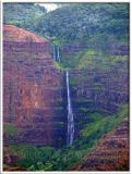 Waimea Canyon Waipoo Waterfall