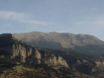 ...facing the Ziria High Peak.