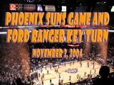 Phoenix Suns - Atlanta Hawks Home Opener, November 3, 2004