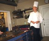 Chef Bellet discussing spices
