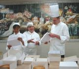 Certificates presented by Chef Bellet