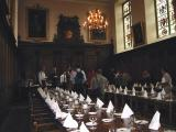 Lunch, dinner and tea in the Great Hall