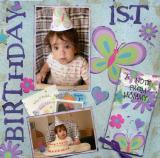First Birthday (page 1 of 2)