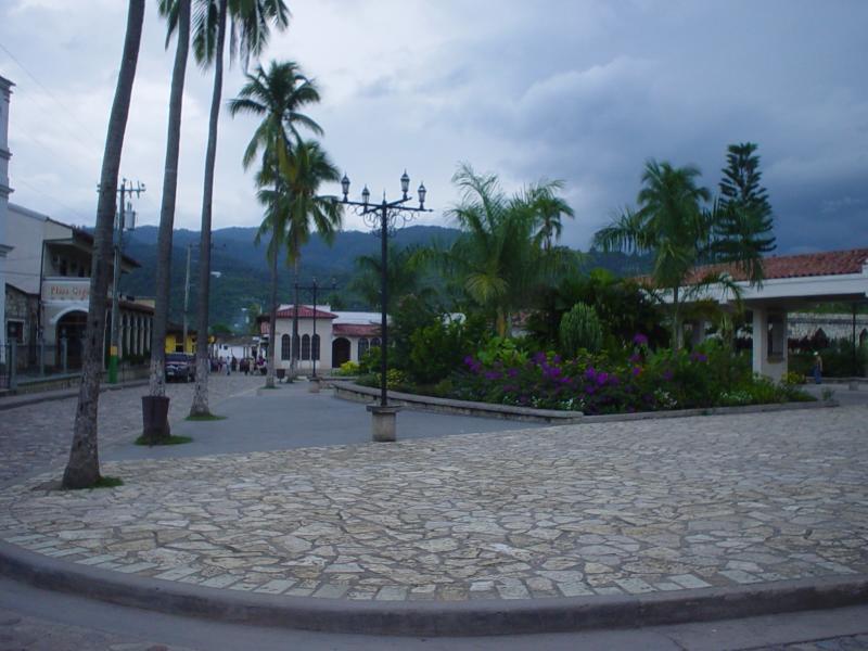 Copan Ruinas town