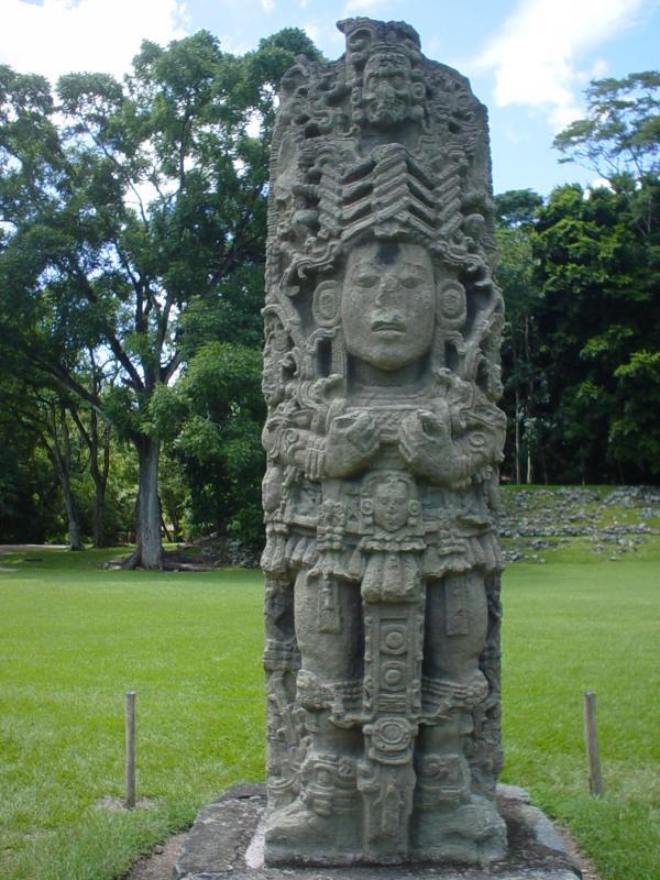 Copan stela
