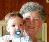 Grandma Downey and Jacob