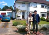 Mom and Peter in Kent, photo by Homeowner
