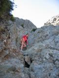 Climbing Haystack