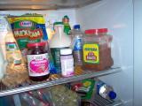 In the fridge!