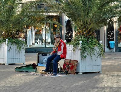 Gypsy musician